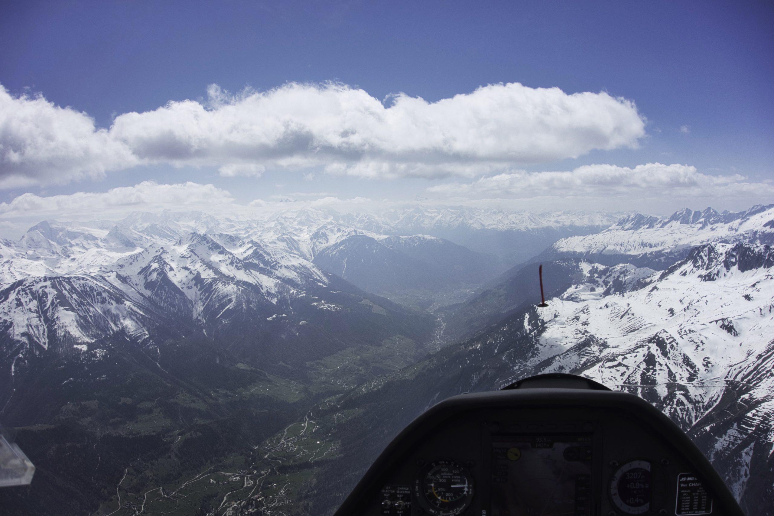 Kilometerschruppen in der Schweiz...