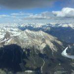 Flache Druckverteilung im Alpenraum