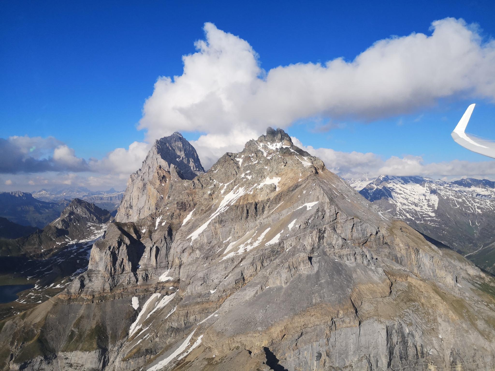 Gute Bedingungen in den Alpen