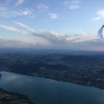 1010km über dem Jura und Schwarzwald